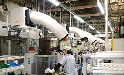 工場内 設置イメージ